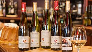 Les grands vins d'Alsace produits au domaine